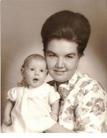 me and mom 1964